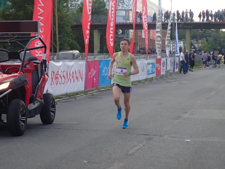 Kamil J. na finiszu [foto Datasport]
